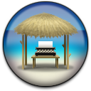 Novel Writer Hut Icon